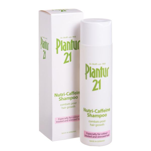 DR. WOLFF PLANTUR 21, šampūnas nuo plaukų slinkimo, 250 ml paveikslėlis