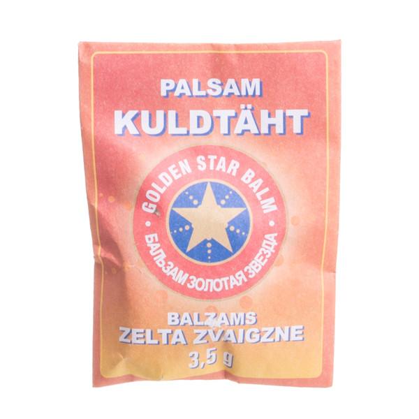 """Balzamas """"Auksinė žvaigždė"""", 3,5 g paveikslėlis"""