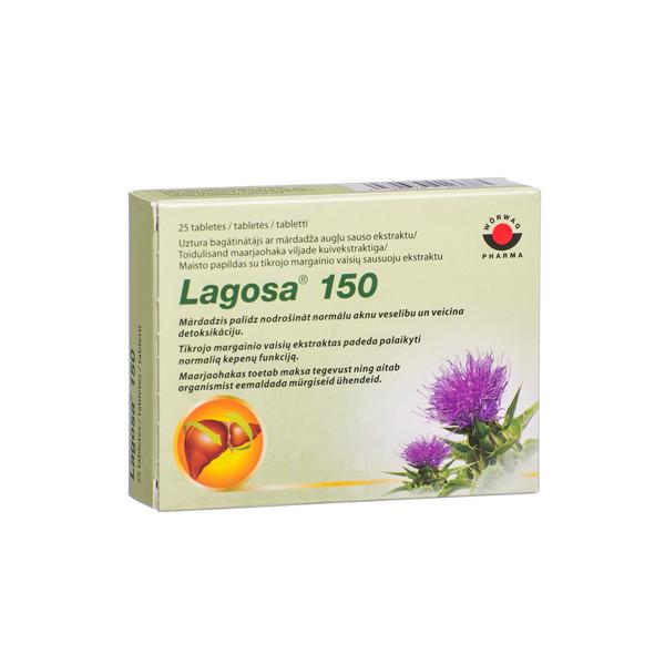 WORWAG PHARMA LAGOSA, 25 plėvele dengtos tabletės  paveikslėlis