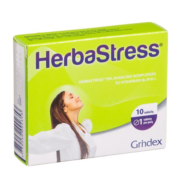 GRINDEX HERBASTRESS, 10 tablečių paveikslėlis