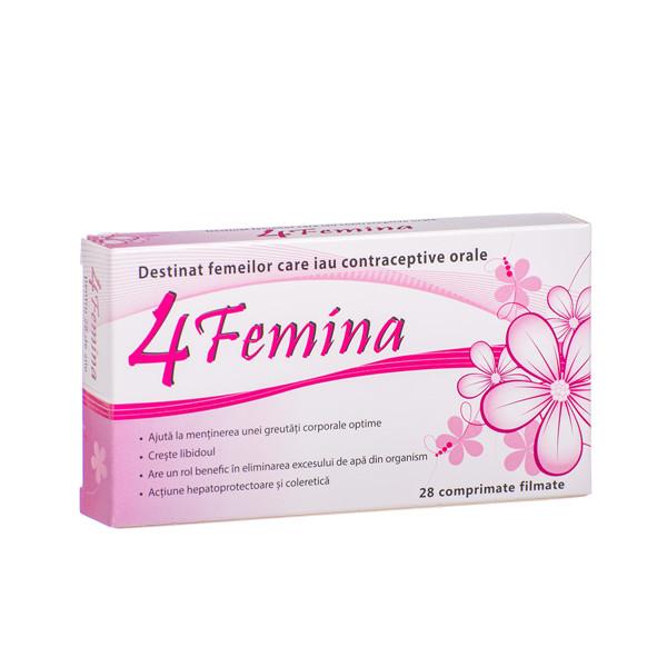 4 FEMINA, 28 plėvele dengtos tabletės  paveikslėlis