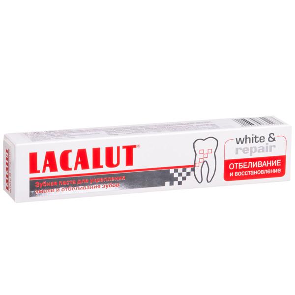 LACALUT WHITE & REPAIR, dantų pasta, 75 ml paveikslėlis