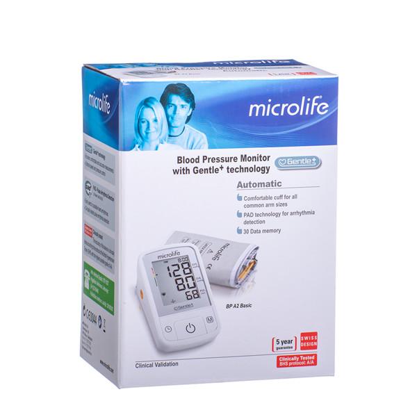 MICROLIFE BASIC BPA2, automatinis kraujospūdžio matuoklis paveikslėlis