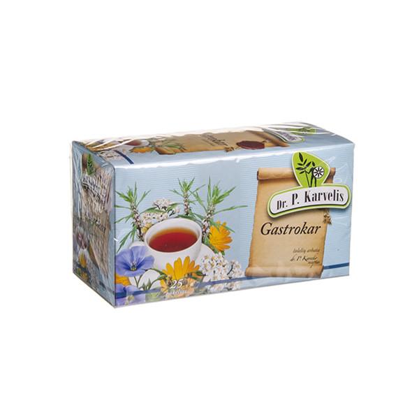 DR. P. KARVELIS GASTROKAR, žolelių arbata, 1 g, 25 vnt. paveikslėlis