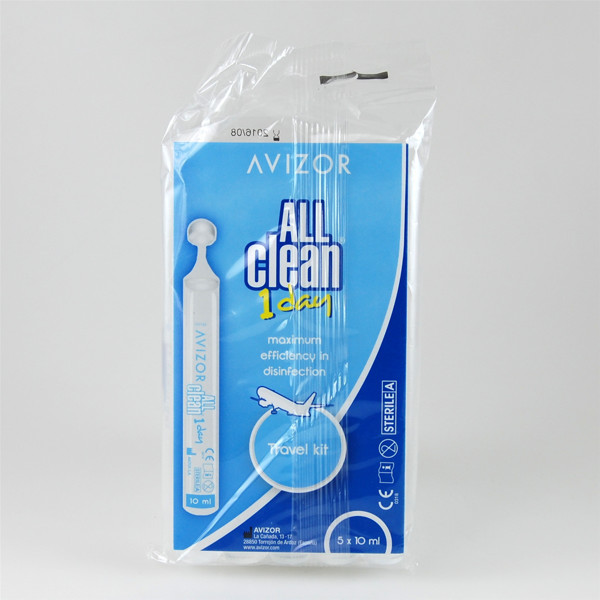 ALL CLEAN UNIDOSE, tirpalas, 10 ml, 5 vnt. paveikslėlis