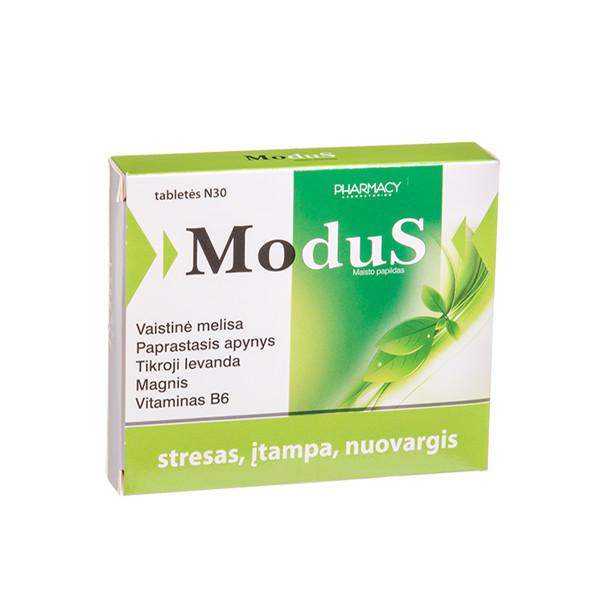 MODUS, 30 tablečių paveikslėlis