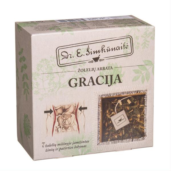 DR. E. ŠIMKŪNAITĖ GRACIJA, žolelių arbata, 20 vnt.  paveikslėlis