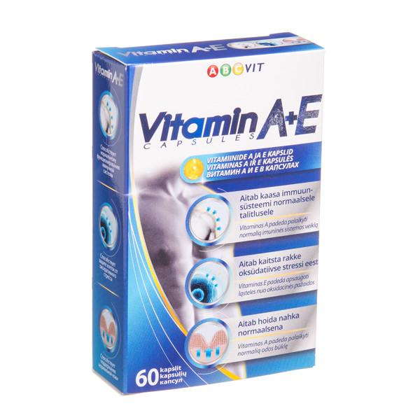 ABC VIT, vitaminas A ir E, 60 kapsulių  paveikslėlis