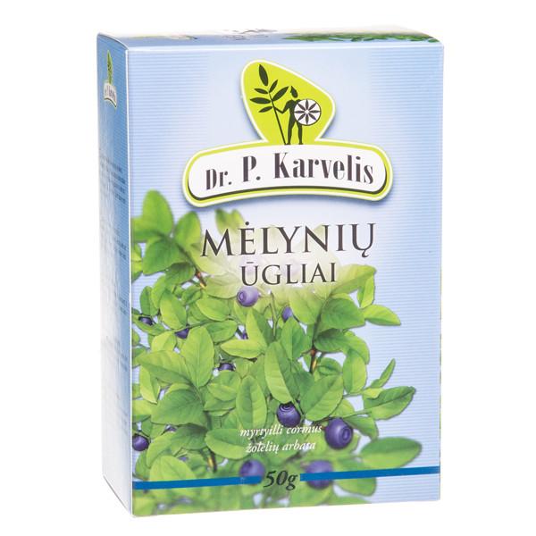 DR. P. KARVELIS MĖLYNIŲ ŪGLIAI, žolelių arbata, 50 g  paveikslėlis