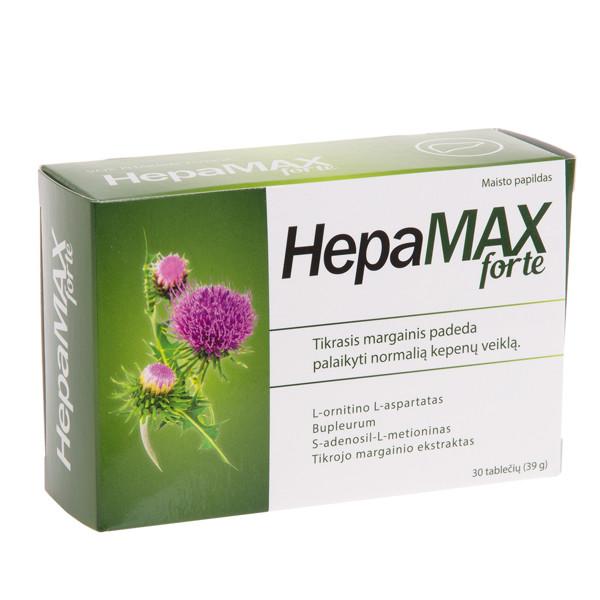 HEPAMAX FORTE, 30 tablečių paveikslėlis