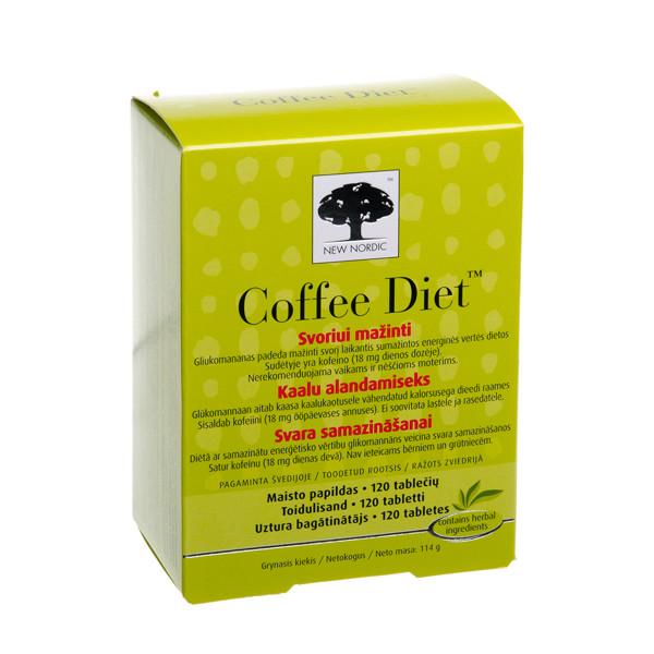 COFFEE DIET, 120 tablečių paveikslėlis
