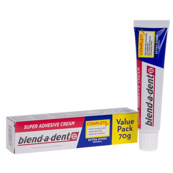 BLEND-A-DENT REGULAR, burnos dantų protezų lipnus kremas, 70 g  paveikslėlis