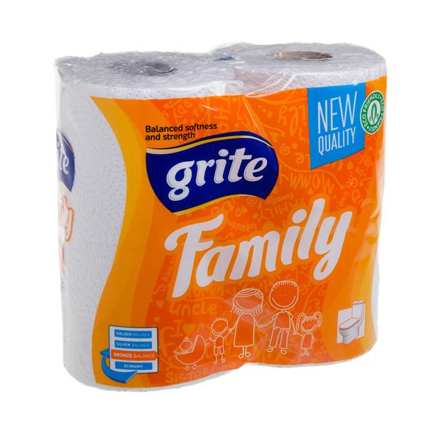 GRITE FAMILY, tualetinis popierius, 4 vnt.  paveikslėlis