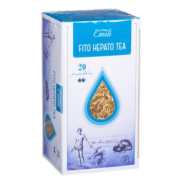 EMILI FITO HEPATO TEA, arbata, 1,5 g, 20 vnt. paveikslėlis