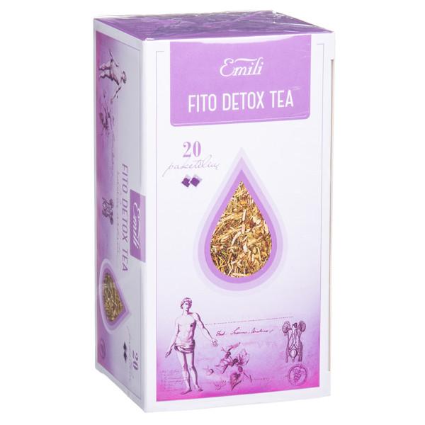 EMILI FITO DETOX TEA, arbata, 1,5 g, 20 vnt. paveikslėlis