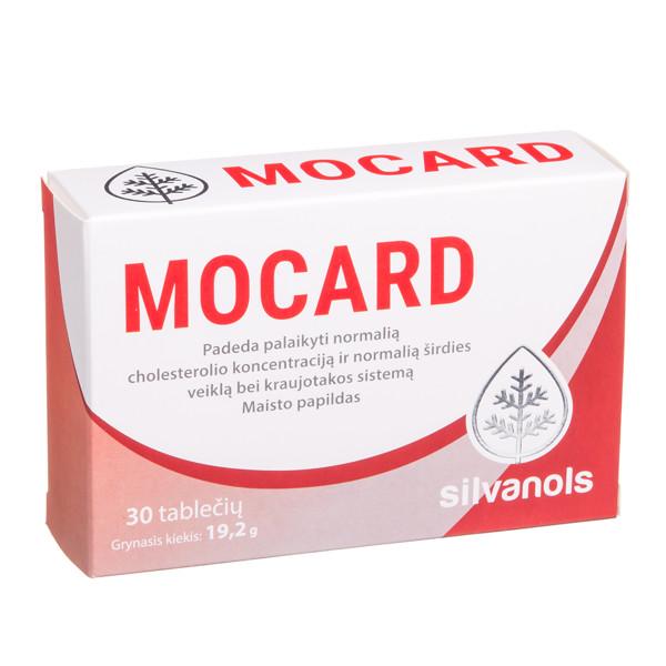 SILVANOLS MOCARD, 30 tablečių paveikslėlis
