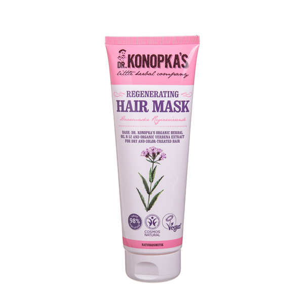 DR. KONOPKA'S, kaukė plaukams, regeneruojanti, 200 ml paveikslėlis