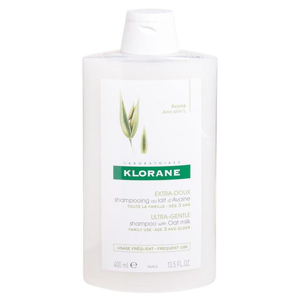 KLORANE, avižų pienelio šampūnas normaliems plaukams, 400 ml paveikslėlis