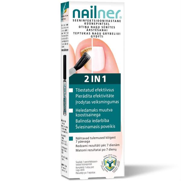 NAILNER 2IN1, teptukas nuo nagų grybelio, 5ml  paveikslėlis