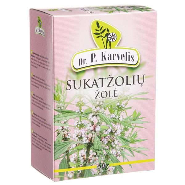 DR. P. KARVELIS SUKATŽOLIŲ ŽOLĖ, žolelių arbata, 50 g paveikslėlis