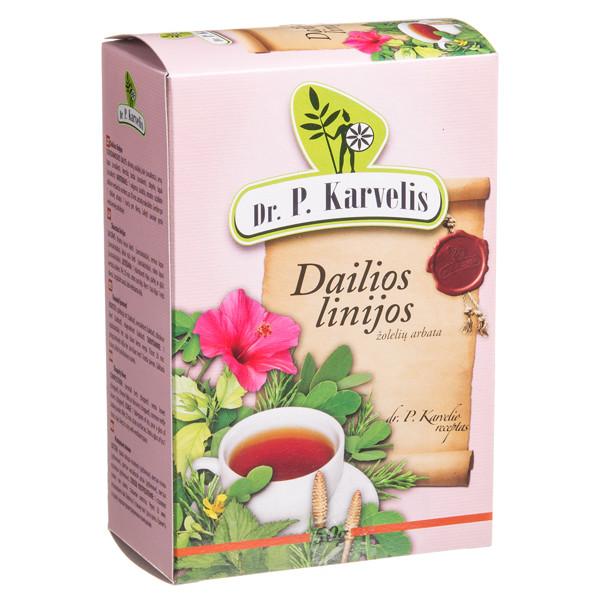 DR. P. KARVELIS DAILIOS LINIJOS, žolelių arbata, 50 g paveikslėlis