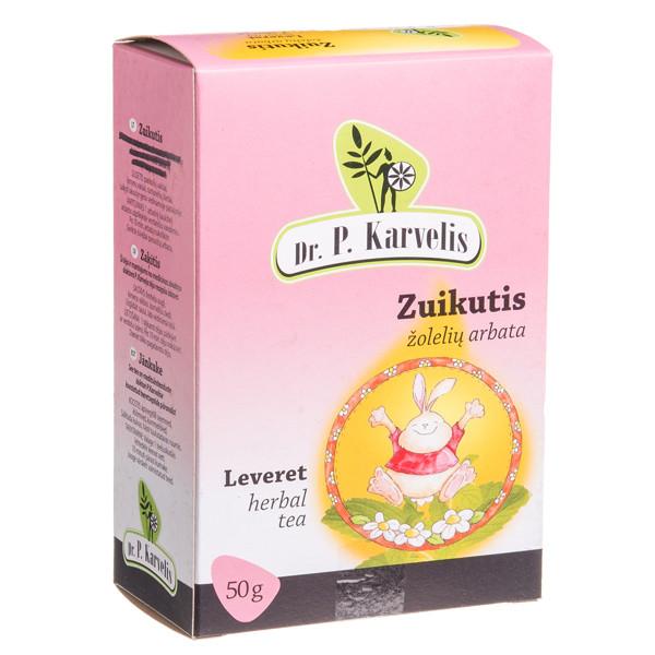 DR. P. KARVELIS ZUIKUTIS, žolelių arbata, 50 g paveikslėlis