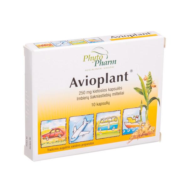 AVIOPLANT, 250 mg, kietosios kapsulės, N10  paveikslėlis