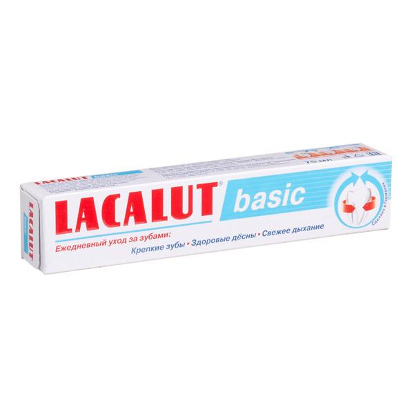 LACALUT BASIC, dantų pasta, 75 ml paveikslėlis