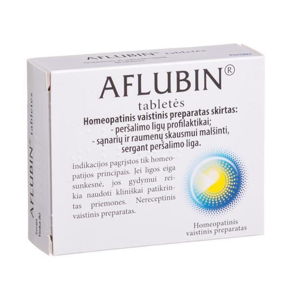 AFLUBIN, tabletės, N48 paveikslėlis