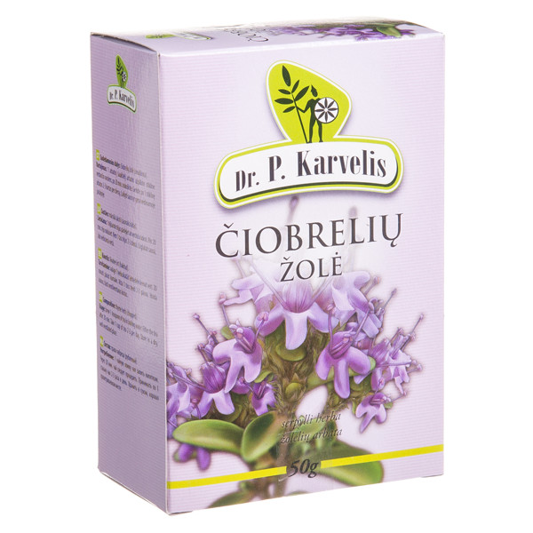 DR. P. KARVELIS ČIOBRELIŲ ŽOLĖ, žolelių arbata, 50 g paveikslėlis