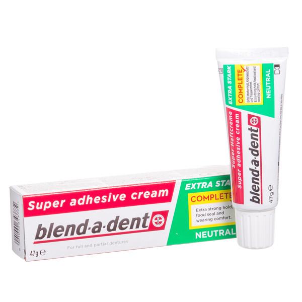 BLEND-A-DENT NEUTRAL, burnos dantų protezų lipnus kremas, 47 g paveikslėlis