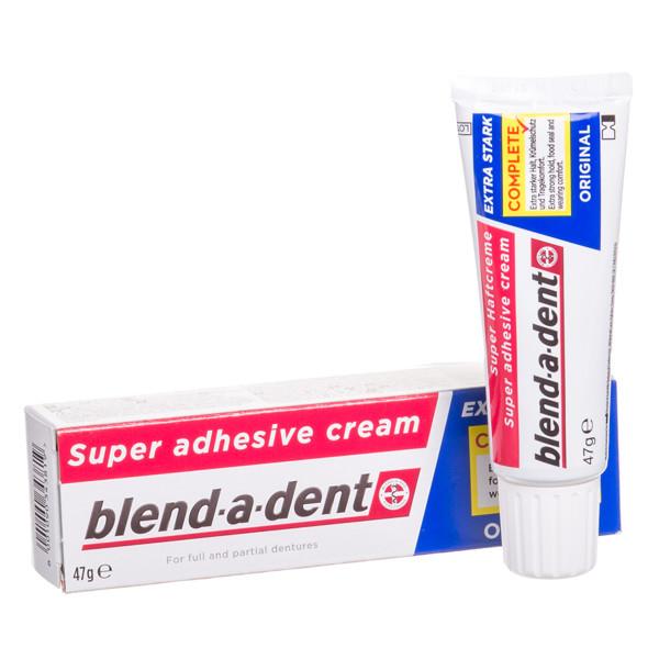 BLEND-A-DENT MILD/REGULAR, burnos dantų protezų lipnus kremas, 47 g paveikslėlis
