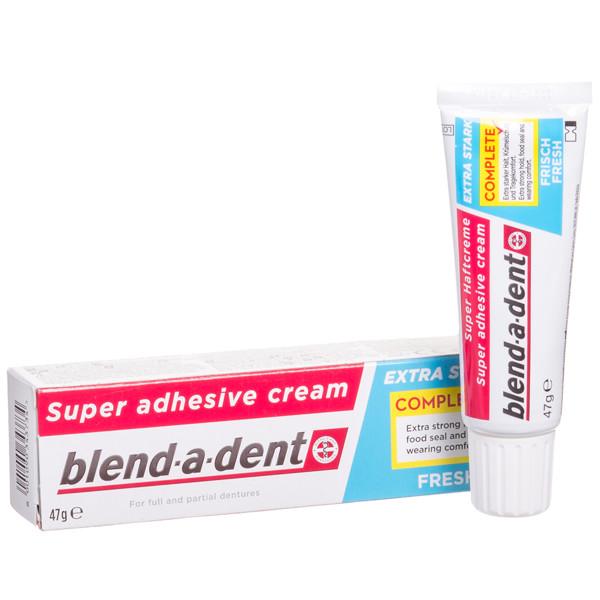 BLEND-A-DENT FRESH MINT, burnos dantų protezų lipnus kremas, 47 g paveikslėlis