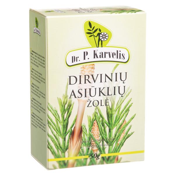 DR. P. KARVELIS DIRVINIŲ ASIŪKLIŲ ŽOLĖ, žolelių arbata, 50 g  paveikslėlis