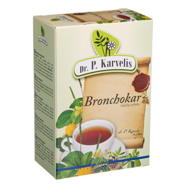 DR. P. KARVELIS BRONCHOKAR, žolelių arbata, 50 g paveikslėlis