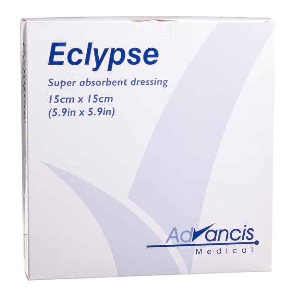 ECLYPSE, absorbuojantis tvarstis, 15 cm x 15 cm, 10 vnt. paveikslėlis