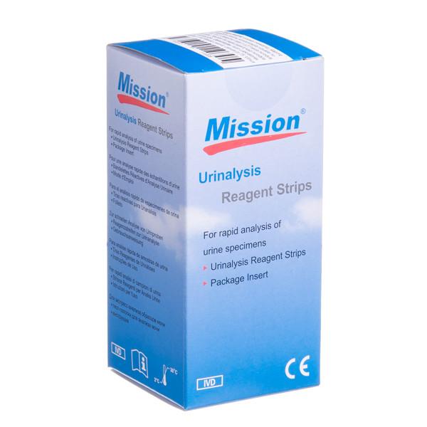 ACON MISSION KET 1KE, diagnostinės juostelės ketonams, 100 vnt. paveikslėlis