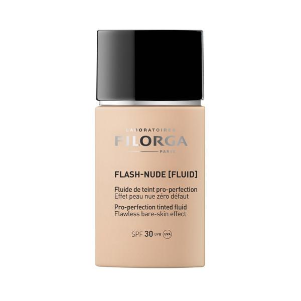 FILORGA FLASH-NUDE FLUID 01, natūralų odos efektą suteikiantis makiažo pagrindas, SPF30, 30 ml paveikslėlis