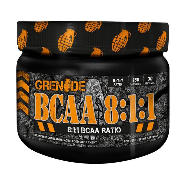 GRENADE BCAA 8:1:1, aminorūgštys, 150 kapsulių paveikslėlis