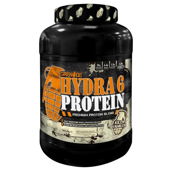 GRENADE HYDRA 6, baltymų išrūgos, vanilės skonio, 1816 g paveikslėlis
