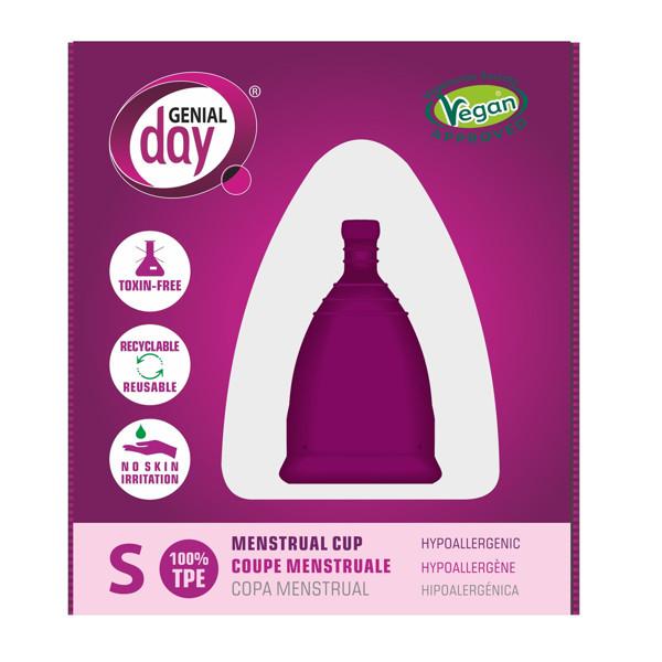 GENIAL DAY, menstruacinė taurelė, S paveikslėlis