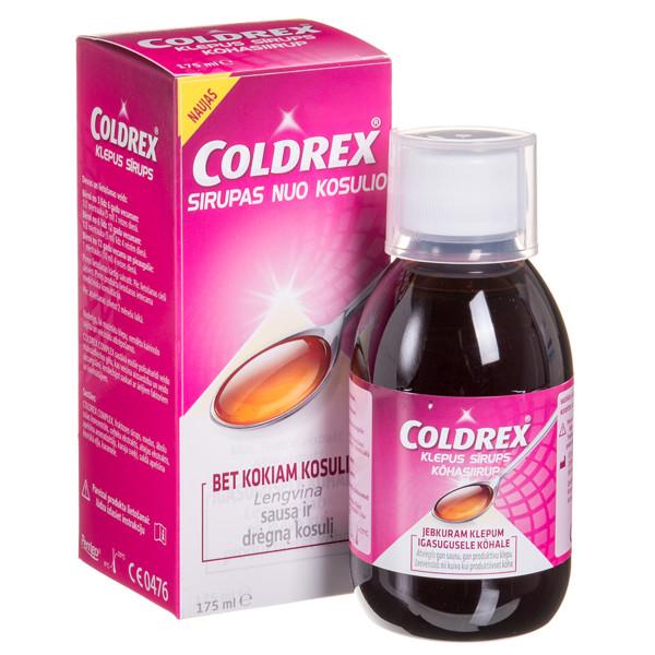 COLDREX, sirupas nuo kosulio, 175 ml  paveikslėlis