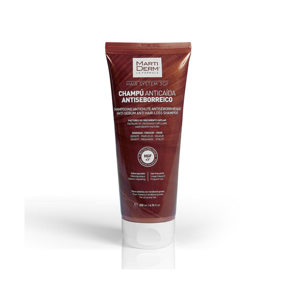 MARTIDERM antiseborėjinis šampūnas nuo plaukų slinkimo, 200 ml paveikslėlis