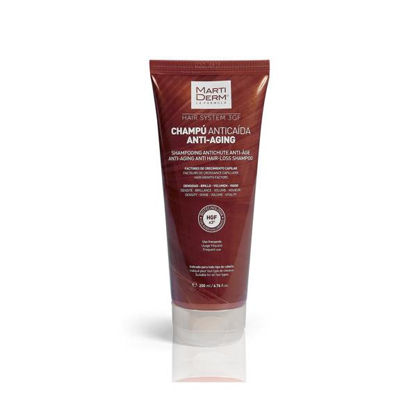 MARTIDERM šampūnas nuo plaukų senėjimo ir slinkimo, 200 ml paveikslėlis