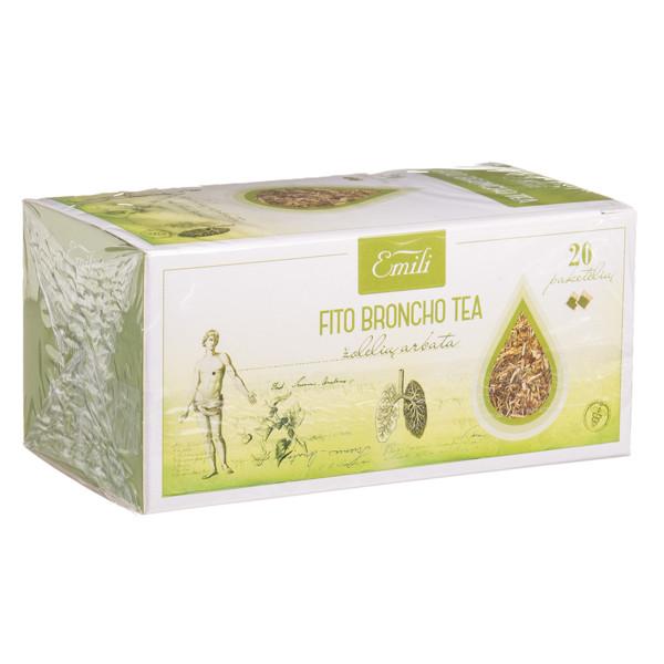 EMILI FITO BRONCHO TEA, žolelių arbata, 1,5 g, 20 vnt. paveikslėlis