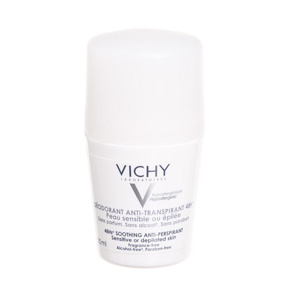 VICHY dezodorantas, antiperspirantas jautriai odai, rutulinis, 50 ml paveikslėlis