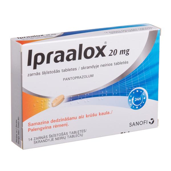 IPRAALOX, 20 mg, skrandyje neirios tabletės, N14 paveikslėlis