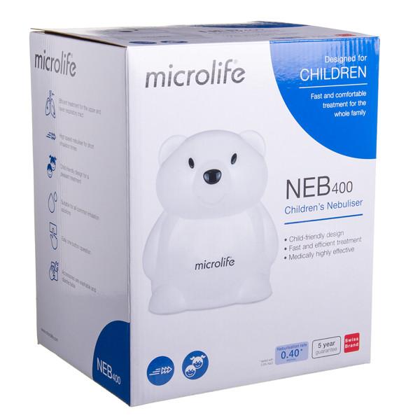 MICROLIFE NEB400, inhaliatorius, meškiukas paveikslėlis