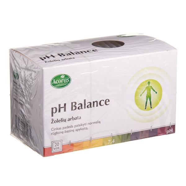 ACORUS PH BALANCE, žolelių arbata, 2 g, 20 vnt. paveikslėlis