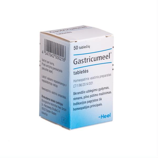GASTRICUMEEL, tabletės, N50  paveikslėlis